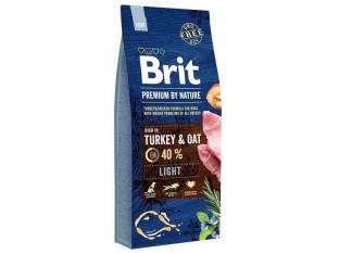 Brit Premium Dog Light для собак с избыточным весом 15 кг