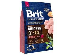 Brit Premuim Dog Junior L для щенков крупных пород 3 кг