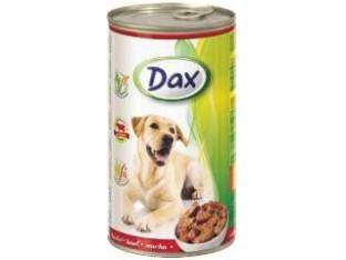 DAX говядина консервы для собак 1,24кг