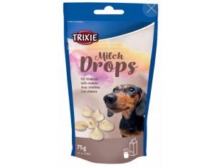 Дропсы молочные лакомство для собак Trixie 31621 75гр.