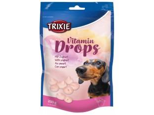 Дропсы со вкусом йогурта лакомство для собак Trixie 31643 200гр.