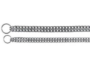 Двойная рывковая цепь для собак Trixie 2237 50см/2,5мм