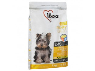 1st Choice (Фест Чойс) Puppy Toy and Small с курицей для щенков мини и мелких пород 7 кг