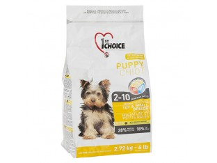1st Choice (Фест Чойс) Puppy Toy and Small с курицей для щенков мини и мелких пород 2,72 кг