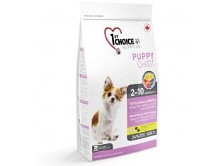 1st Choice (Фест Чойс) Puppy Toy and Small с ягненком и рыбой для щенков мини и мелких пород 2,72 кг