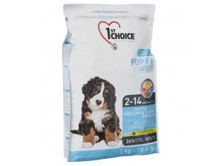 1st Choice (Фест Чойс) Puppy Medium and Large для щенков средних и крупных пород 15 кг