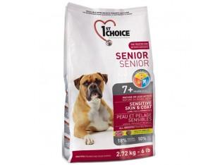 1st Choice (Фест Чойс) Senior Sensitive с ягненком и рыбой для собак старше 7 лет 12 кг