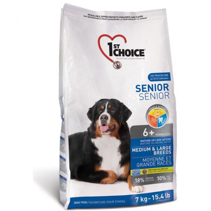 1st Choice (Фест Чойс) Senior Medium and Large для пожилых собак средних и крупных пород 14 кг
