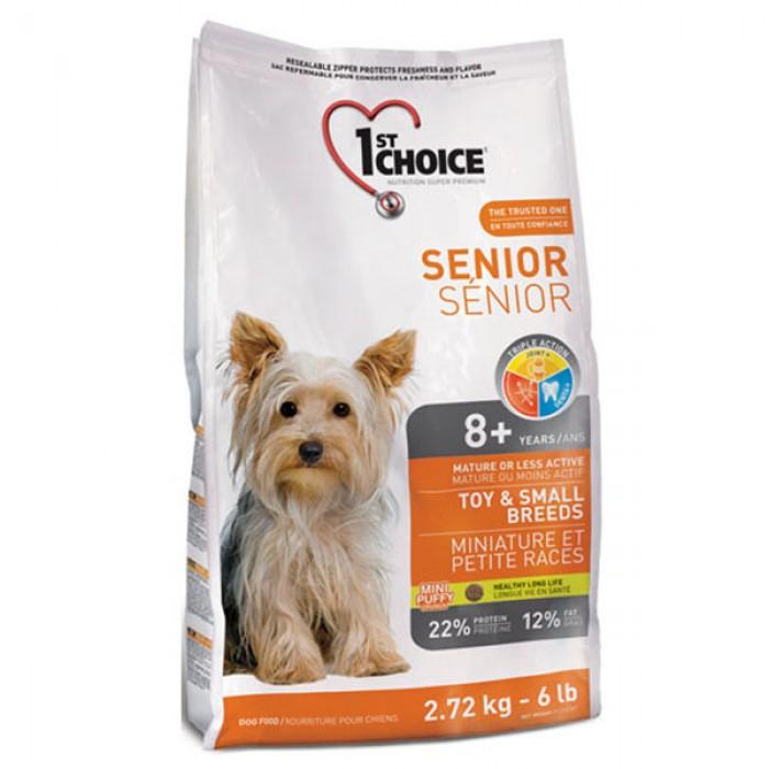 1st Choice (Фест Чойс) Senior Toy and Small с курицей для пожилых собак мини и мелких пород 2,72 кг