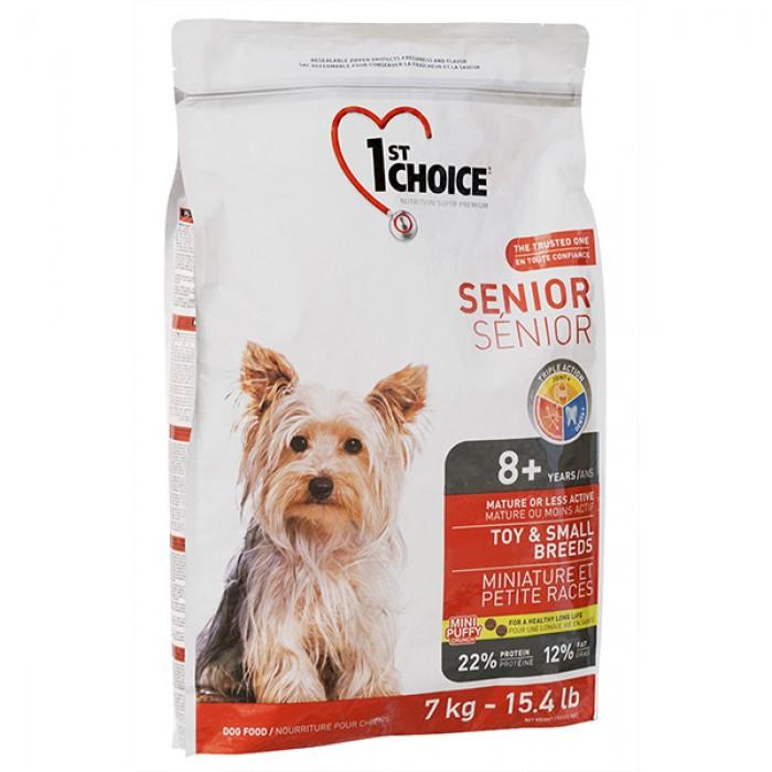 1st Choice (Фест Чойс) Senior Toy and Small с курицей для пожилых собак мини и мелких пород 7 кг