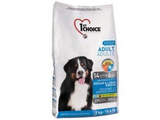 1st Choice (Фест Чойс) Adult Medium and Large для взрослых собак средних и крупных пород 15 кг