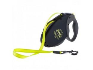 Flexi Neon Giant рулетка-поводок для собак 8м/50кг лента