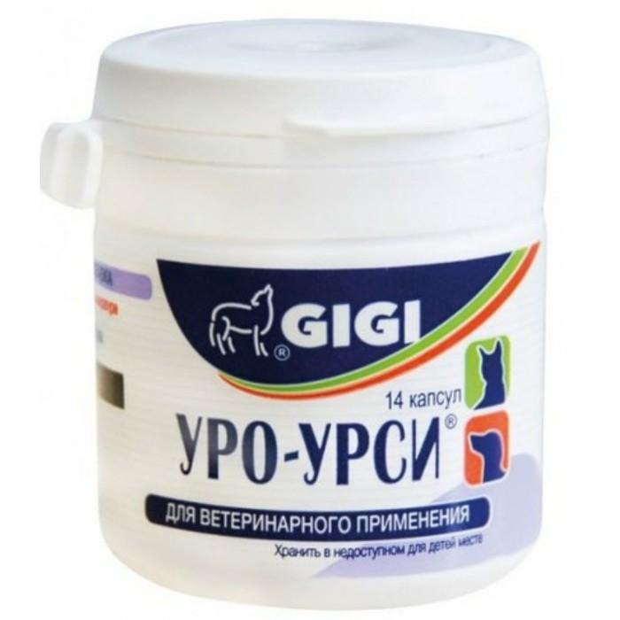 GiGi Uro-Ursi добавка для профилактики и лечения МКБ и циститов у собак 14 капс
