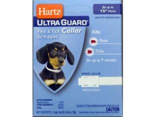 Hartz (Харц) Ultra Guard ошейник от блох и клещей для щенков 38см H80478