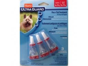Hartz (Харц) Ultra Guard капли от блох и клещей для собак и щенков Хартц  6-14кг