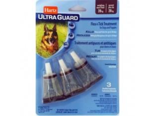 Hartz (Харц) Ultra Guard капли от блох и клещей для собак и щенков Хартц свыше 28кг