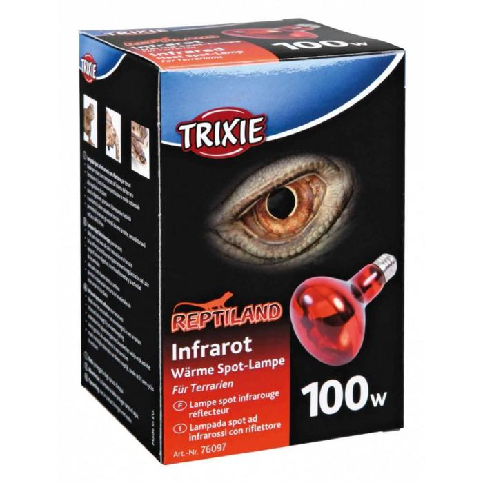 Инфракрасная лампа для террариума Trixie 76097 100W 63x100мм