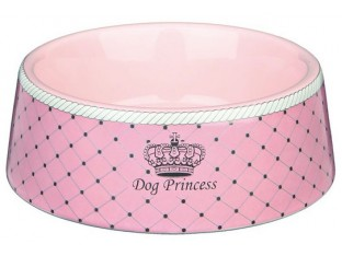 "Керамическая миска для собак ""Dog Princess"" Trixie 24582 0.45л/16см"