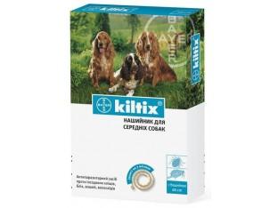 Kiltix (Килтикс) ошейник от блох и клещей для собак 48см