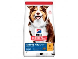 Hills Science Plan Mature Adult 7+ Medium корм для собак средних пород старше 7 лет 14 кг