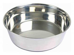 Миска стальная для собак Trixie 25071 0,5л/14см
