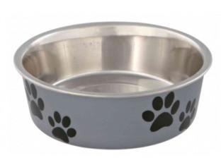 Миска стальная для собак Trixie 25243 0,8л/17см