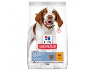 Hills Science Plan Adult No Grain Medium беззерновой корм для собак средних пород с курицей 14 кг