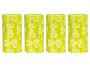 Одноразовые пакеты для уборки за собаками с ароматом лимона Trixie 23473