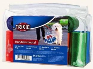 Одноразовые пакеты для уборки за собаками Trixie 23478