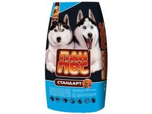 Пан Пес Стандарт корм для собак с нормальной активностью 10 кг