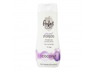 8in1 Perfect Coat White Pearl Shampoo шампунь-кондиционер Белый Жемчуг 473мл