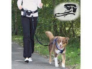 Поводок для бега с собакой 1- 1,35м/25мм Trixie 1275
