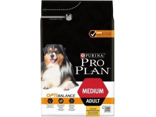 Pro Plan Adult Medium с курицей для взрослых собак средних пород 3 кг