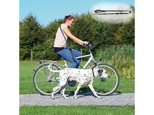 Велосипедный поводок для собак 1–2м/25мм Trixie 1282
