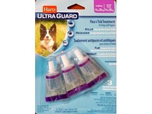 Hartz (Харц) Ultra Guard капли от блох и клещей для собак и щенков Хартц 14-28кг
